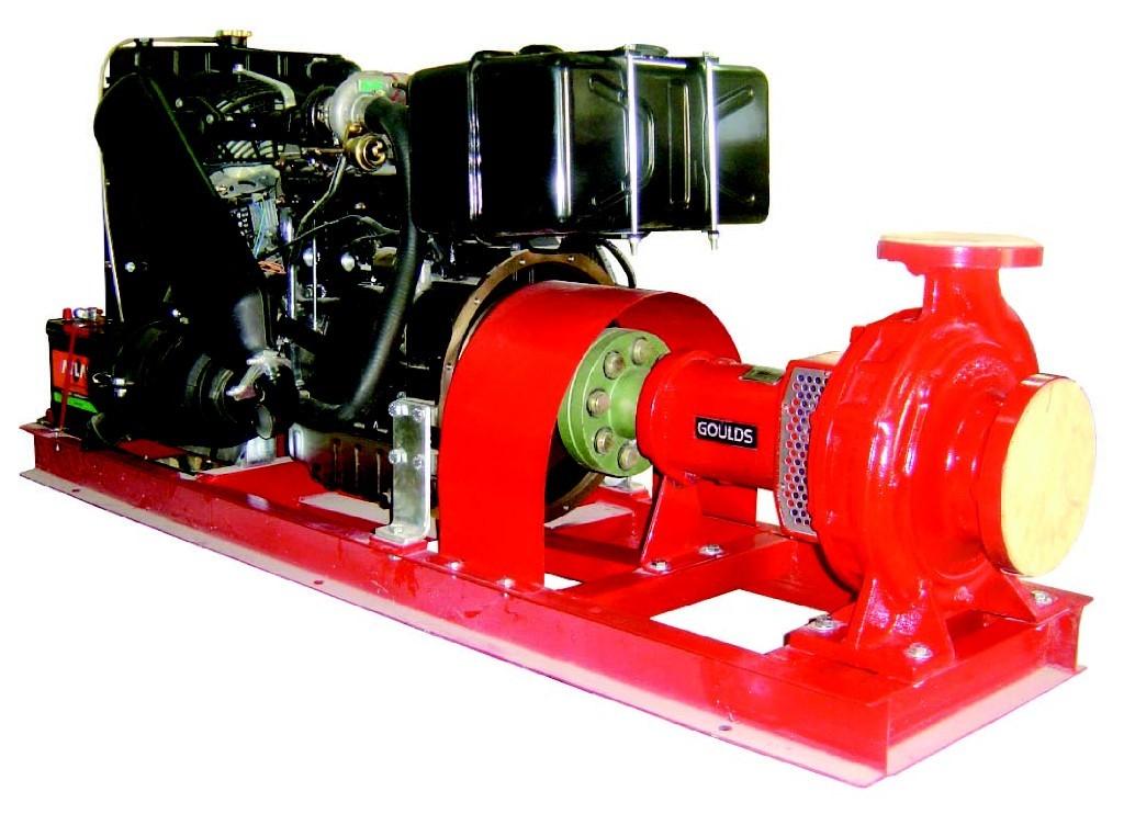 các loại máy bơm chứa cháy thông dụng
